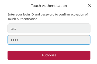 Enter your ID and password