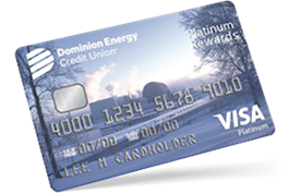 Dominion Energy Credit Union Platinum Rewards Card Details