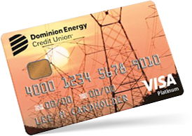 Low Rate Visa Credit Card by Dominion Energy Credit Union